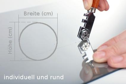 glasscheibe online bestellen, modellform kreis - glasscheibe, glasplatte, sicherheitsglas, spiegel, Design ideen