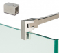 Preview: Stabilisierungsstange Set Bohle Basic Glas-Wand 90°