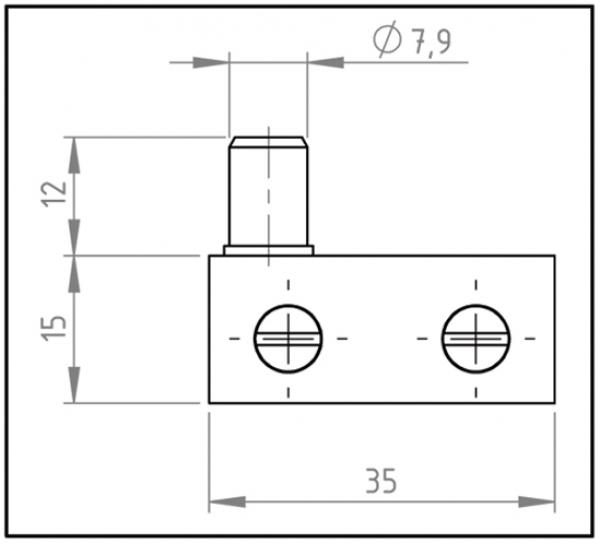 zapfenband glasscheibe glasplatte sicherheitsglas. Black Bedroom Furniture Sets. Home Design Ideas
